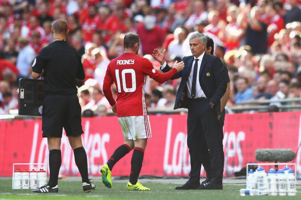 Manchester United manager Jose Mourinho has made a similar calculation to the one Alex Ferguson made a few years back in relation to Wayne Rooney's effectiveness at the top level