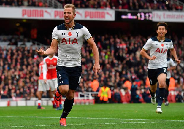 Spurs striker Harry Kane
