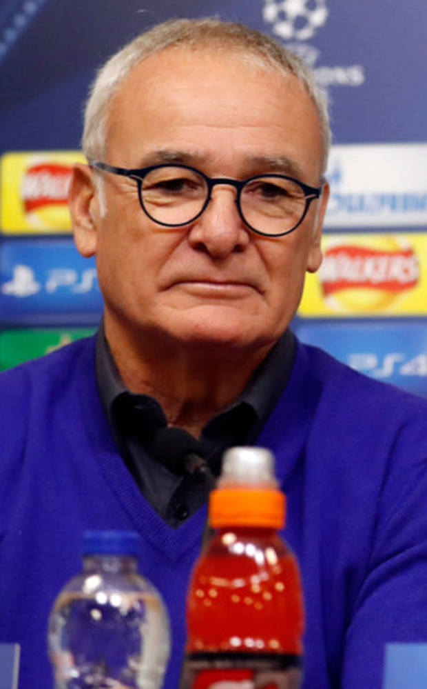 Claudio Ranieri Photo: Reuters