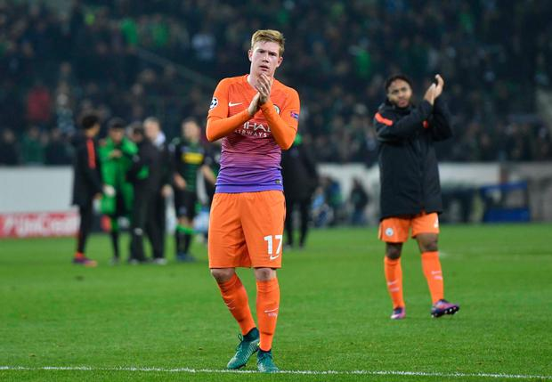 Kevin De Bruyne. Photo: AP