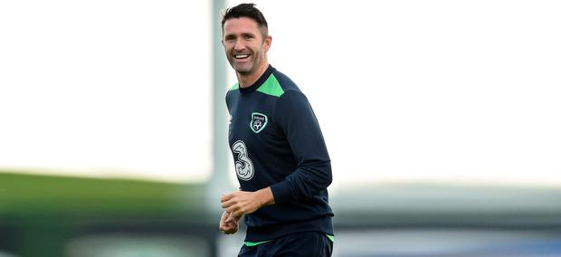Former Liverpool player Robbie Keane has lauded the job done by current Reds boss Jurgen Klopp. Pic: Sportsfile