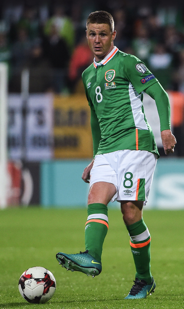 Ireland midfielder James McCarthy could be sold by Everton boss Ronald Koeman (above) in January
