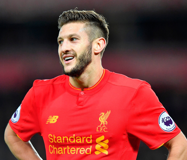 Liverpool's Adam Lallana