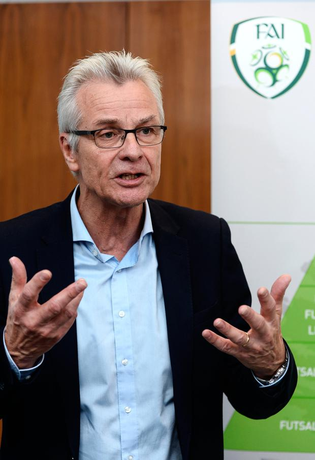 Ruud Dokter. Pic: Sportsfile