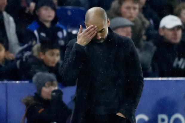 Manchester City manager Pep Guardiola Picture: Reuters