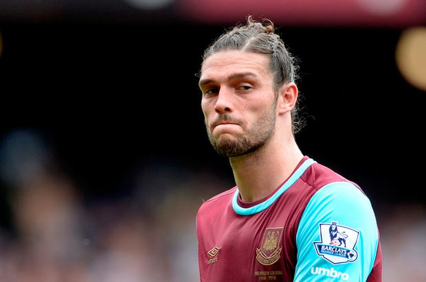 Andy Carroll Picture: PA