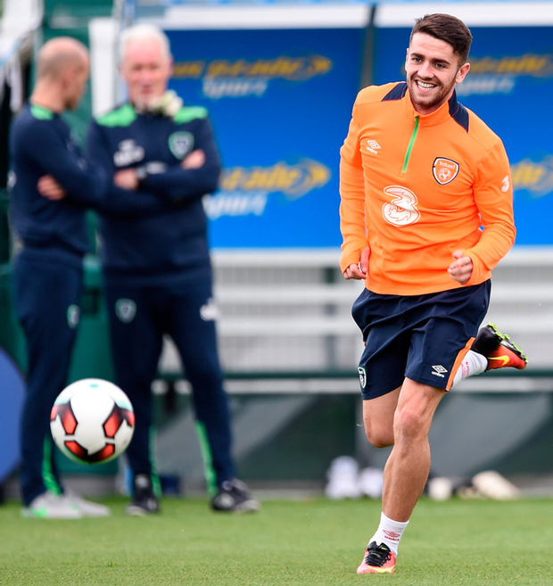 Norwich's Irish star Robbie Brady Picture: Sportsfile