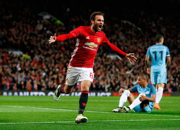 Juan Mata insists Manchester United can end the year on a high note with two wins at home to Sunderland and Middlesbrough. Pic: PA