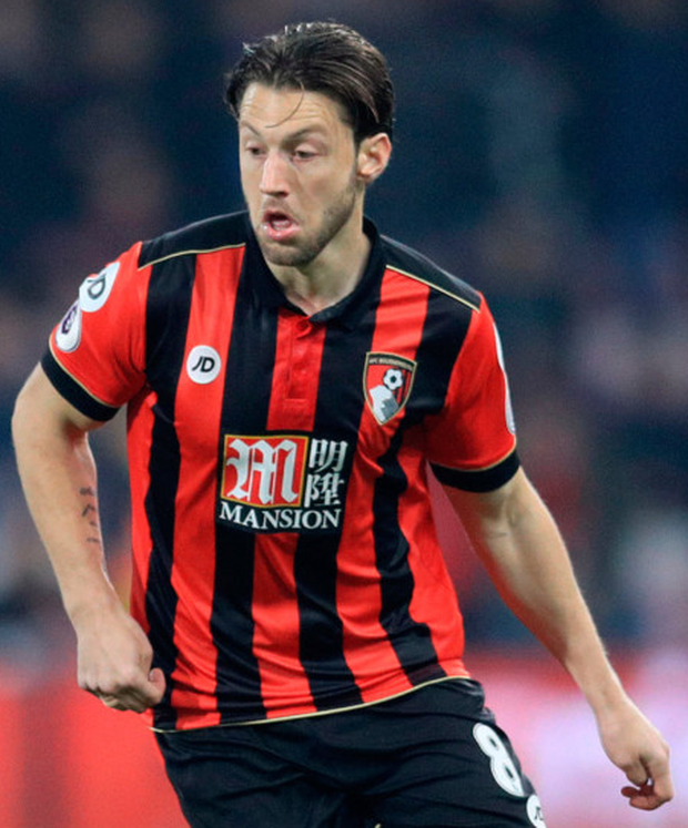 Bournemouth's Harry Arter. Pic: PA