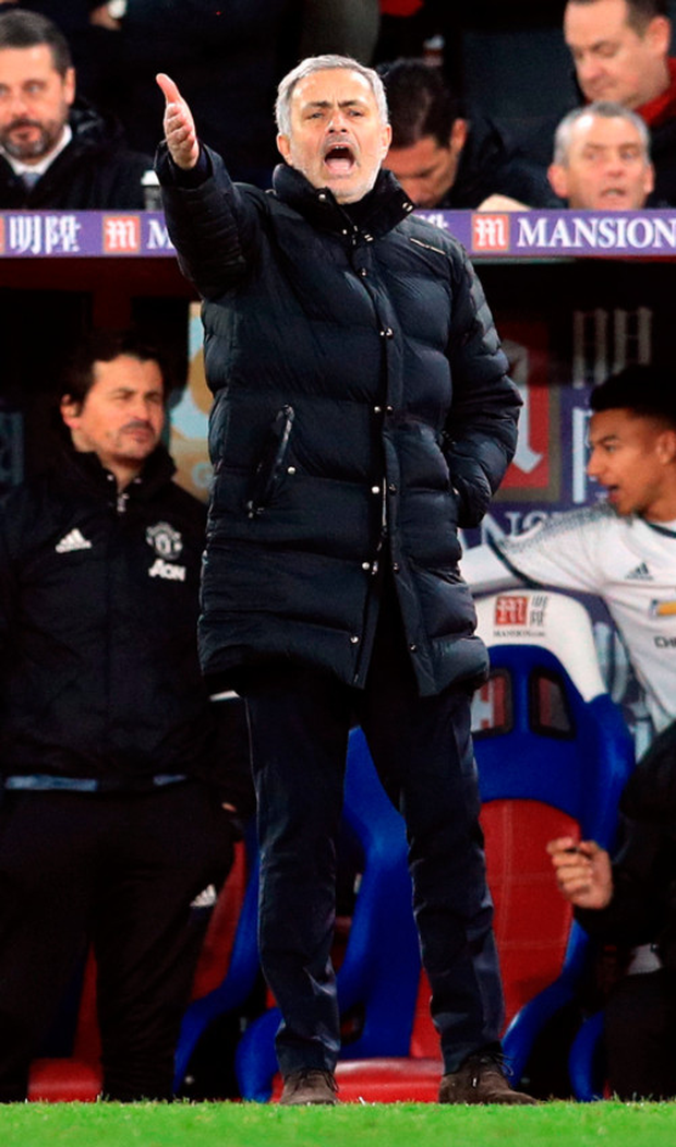 Manchester United manager Jose Mourinho is feeling at home at Old Trafford.