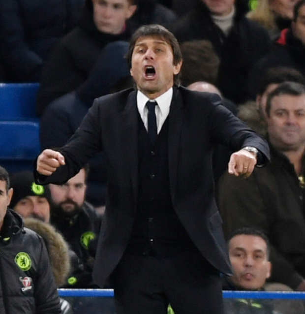 Antonio Conte has Chelsea primed to make a serious challenge for the Premier League title. Pic: Reuters