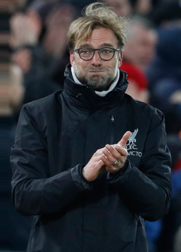 Liverpool manager Jurgen Klopp is braced for tomorrow evening's clash with Manchester City at Anfield. Pic: Reuters