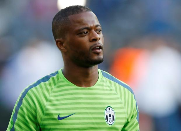 Patrice Evra. Photo: AP Photo/Luca Bruno