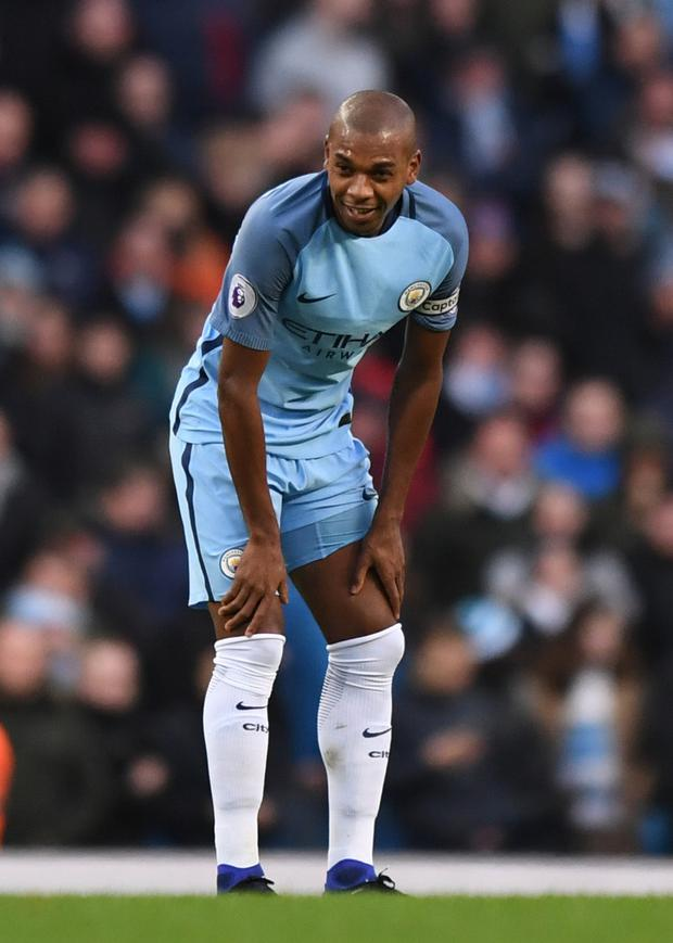 Fernandinho. Photo: Anthony Devlin/Reuters/Livepic