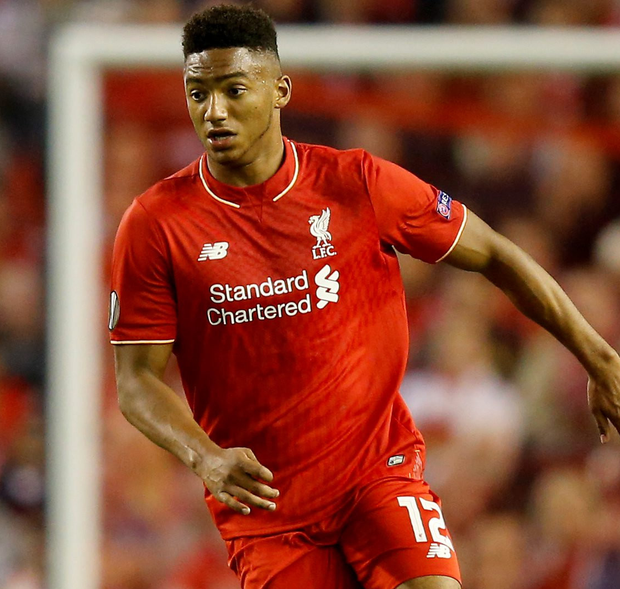 Liverpool defender Joe Gomez