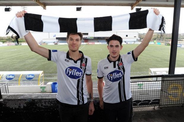 Niclas Vemmelund and Jamie McGrath