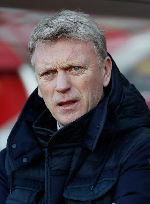 Sunderland boss David Moyes. Pic: Reuters