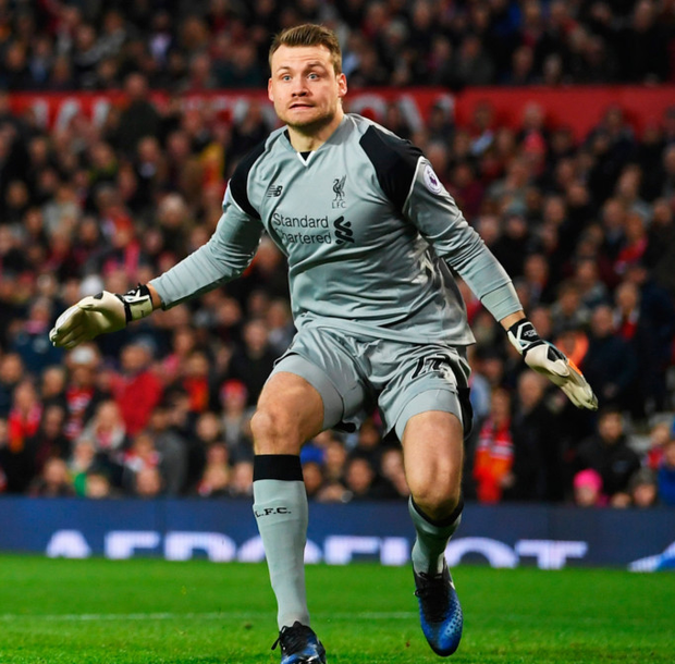 Liverpool's Simon Mignolet. Pic: Getty Images