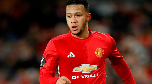 Memphis Depay has had a torrid time at Old Trafford, having impressed at PSV Eindhoven. Photo: PA