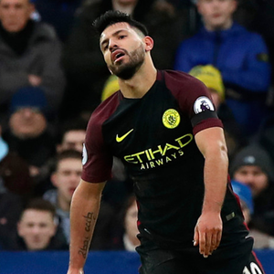 Manchester City manager Pep Guardiola has insisted his dinner date with Sergio Aguero (pictured) and the striker's agent in central Manchester was nothing to do with the Argentine's contract at the Etihad. Photo: Peter Byrne/PA Wire