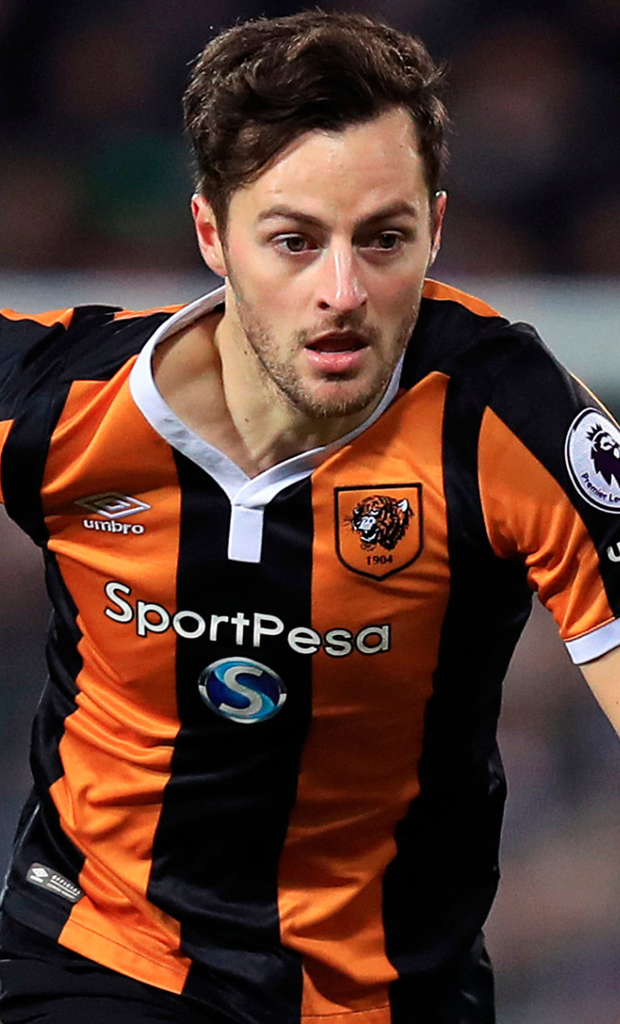 Hull defender Ryan Mason