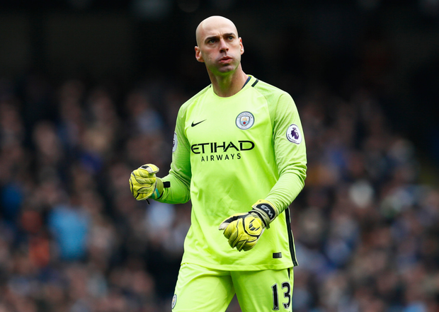 Willy Caballero. Photo: Jason Cairnduff/Action Images via Reuters