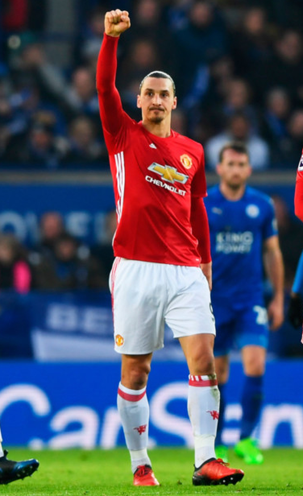 Zlatan Ibrahimovic. Photo: Shaun Botterill/Getty Images