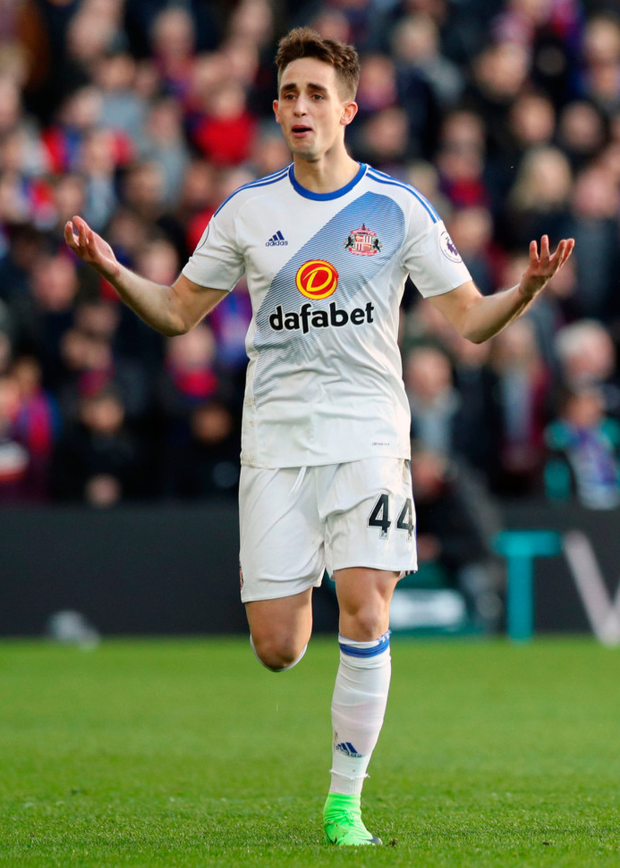 Sunderland's Adnan Januzaj Photo: PA