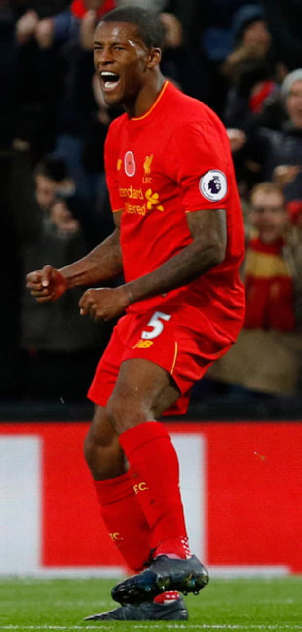 Reds midfielder Georginio Wijnaldum says Liverpool have reserved their best form for the big games this season