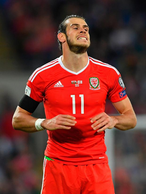 Wales' Gareth Bale. Pic: Getty Images