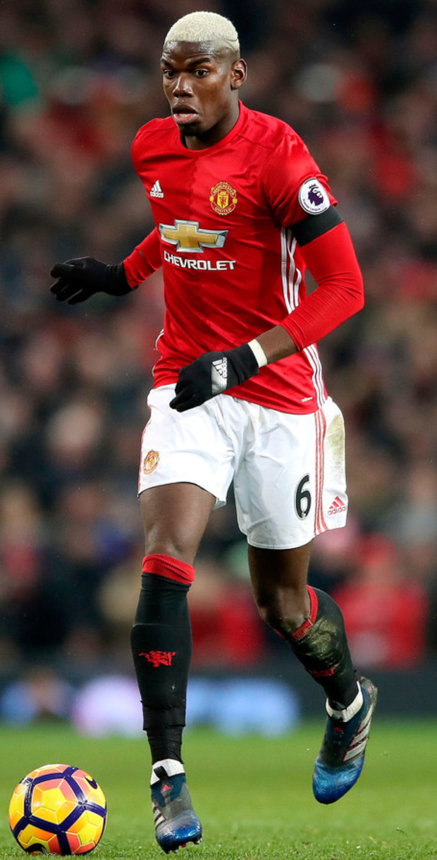Manchester United's Paul Pogba will face his brother Florentin tomorrow in Europa League action at Old Trafford. Photo: Nick Potts/PA Wire