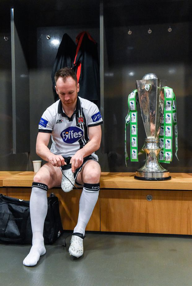 Dundalk's Stephen O'Donnell. Pic: Sportsfile