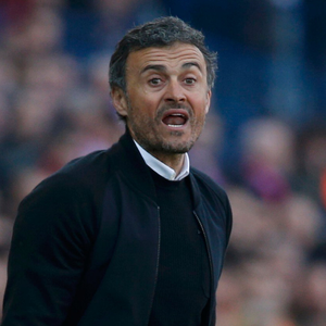 Luis Enrique. Photo: Juan Medina/Reuters