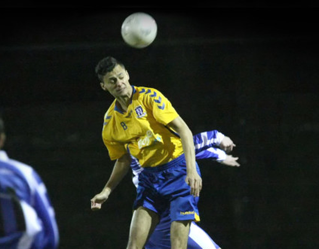 Dean Ebbe during his junior soccer playing days in Dublin with Collinstown