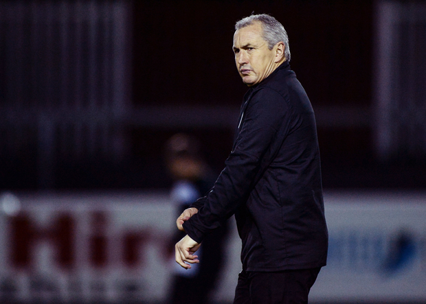 Cork City's John Caulfield. Pic: Sportsfile
