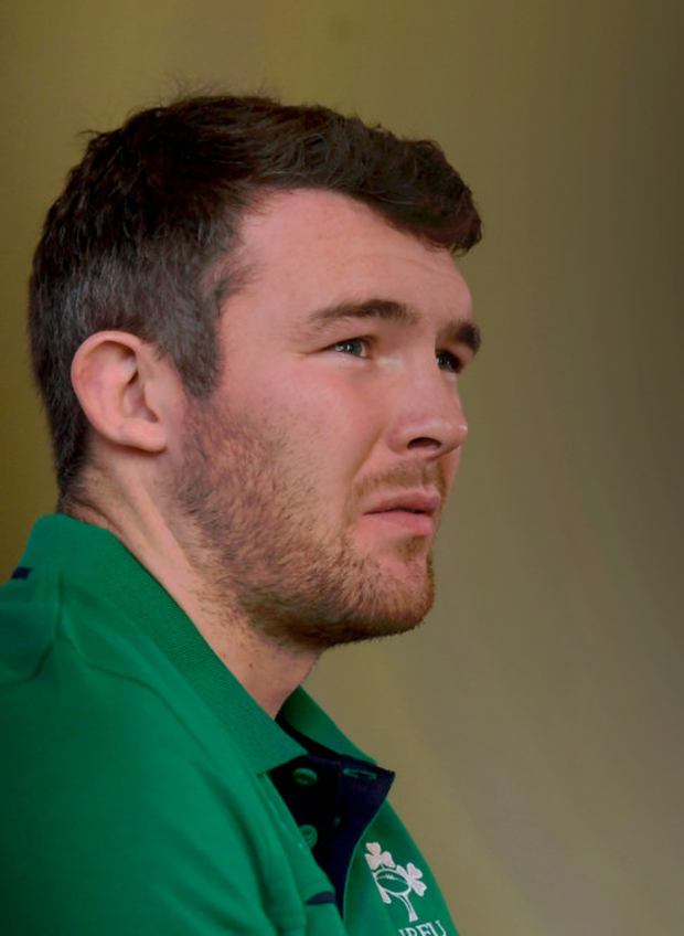 Ireland's Peter O'Mahony says it's very hard to pick out any weaknesses in the England team. Photo: Sportsfile