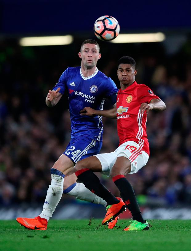 Chelsea's Gary Cahill. Pic: PA