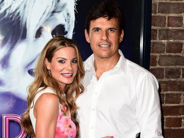 Chris Coleman pictured with his wife, the Sky Sports News presenter Charlotte Jackson.
