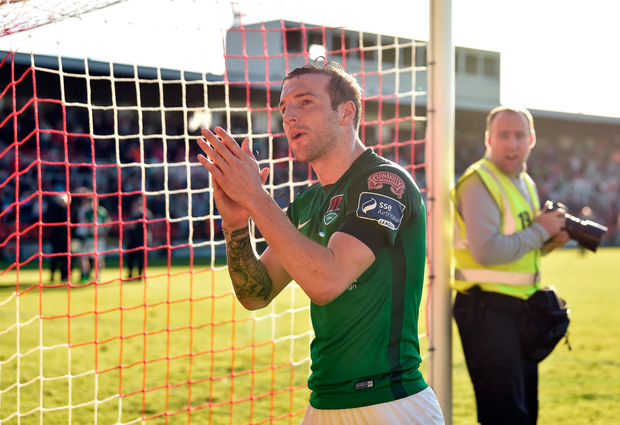 Cork City's Karl Sheppard. Photo: SPORTSFILE
