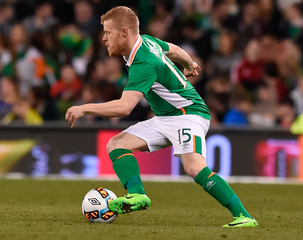 Republic of Ireland's Daryl Horgan