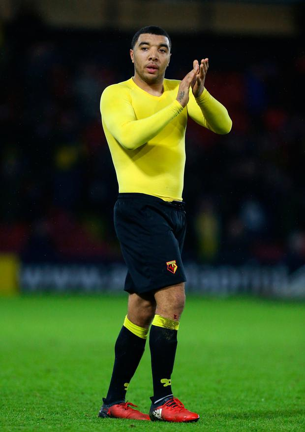 Watford's Troy Deeney. Photo: Steven Paston/PA Wire