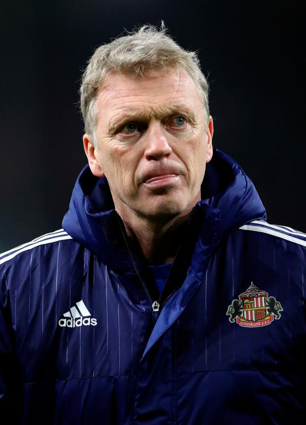 Sunderland manager David Moyes. Photo: Peter Byrne/PA Wire