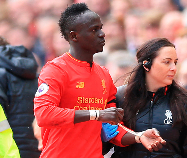 Liverpool's Mane to miss rest of season with knee injury