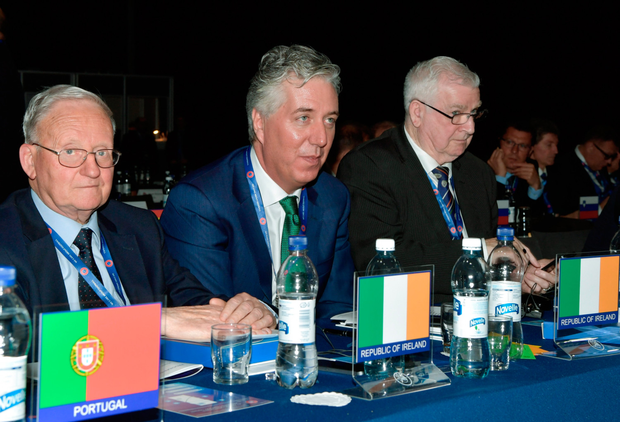 New UEFA man John Delaney. Photo: SPORTSFILE