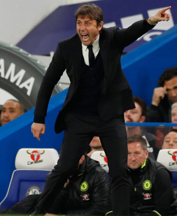 Chelsea manager Antonio Conte has dismissed reports linking him with a move back home to Italy