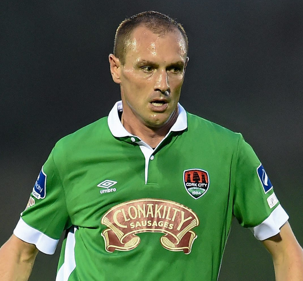 Healy came home to play for Cork City in 2007 and, following spells at Ipswich (where he played under Roy Keane) and Falkirk, he returned to Cork in 2012. Photo: Sportsfile