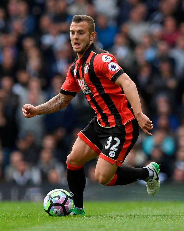 Jack Wilshere has a broken leg again and will miss another chunk of his increasingly stop-start career because of it. Photo: Victoria Jones/PA Wire