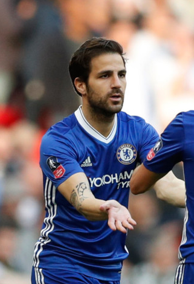 Chelsea's Cesc Fabregas. Photo: Reuters