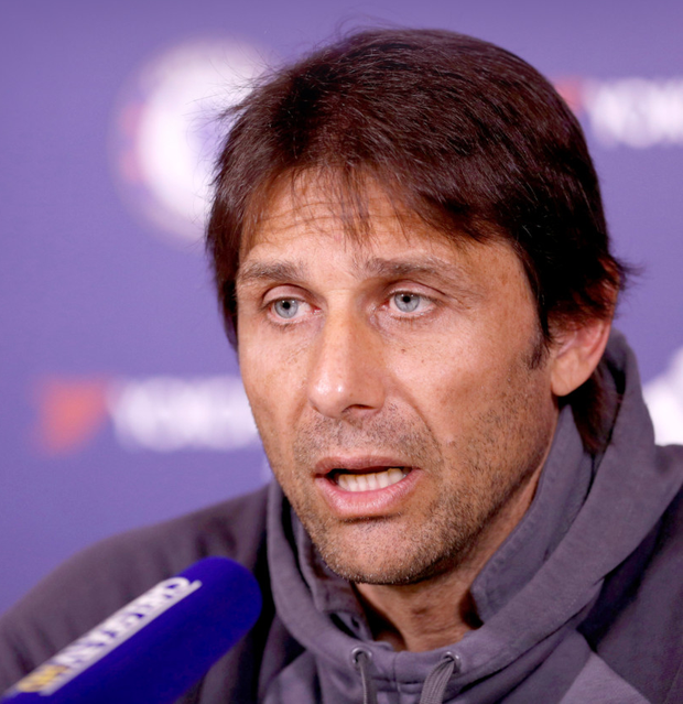 Chelsea boss Antonio Conte has hit out at his Manchester rivals' spending sprees