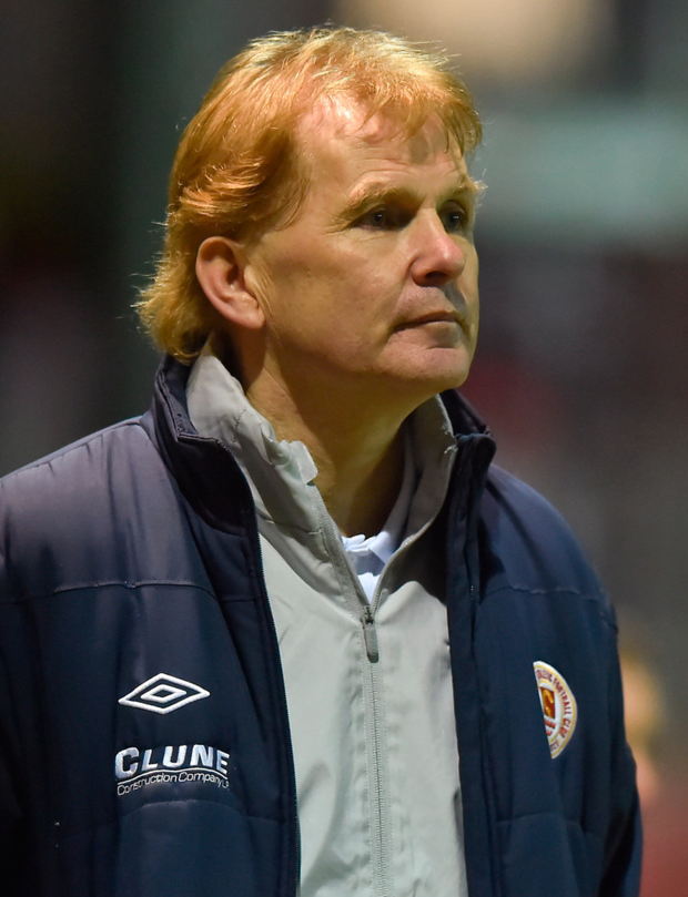St Patrick's Athletic boss Liam Buckley